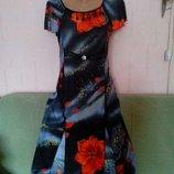 Платье 48р.яркое,новое