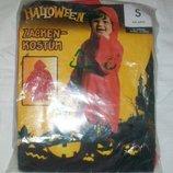 Детский плащ на праздник Halloween р.4-6 лет