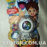 Yo-kai Watch Yo-kai Medallium Collection Book Игровой набор Часы с 2 медалями