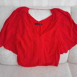 Турецкая красная блуза Zara. Оригинал.