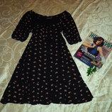 Шикарное мини платьеце туничка из благородной вискозы.БРЕНД Warehouse