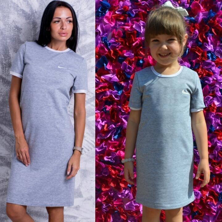 62696de89e7f Family look летние платья Nike мама дочка цвета  740 грн - повседневные  платья в Запорожье, объявление №13464489 Клубок (ранее Клумба)