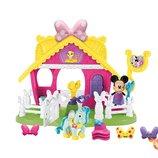 Fisher-Price Ферма с пони Минни Маус Disney Minnie Jump 'n Style Pony Stable Play Set