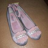 Туфли на девочку 36 р. 23 см. Blooms. блумс, туфлі, дівчинку, детские, уценка, осенние, весенние