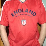 Спортивная фирменная футболка зб .Англии хл-2хл .