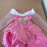 Платье карнавал 5-6 лет Disney Дисней оригинал розовое принцесса