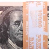 Деньги сувенирные 100 долларов и другие.