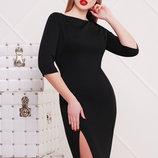 платье Лучера д/р. Цвет черный скл2