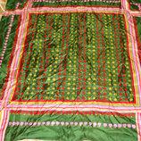 платок Vetter Vetterice оригинал шелк Швейцария принт Яблоки 76Х78 см идеал