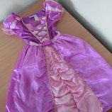 Платье карнавал 3-5 лет 98-110 см Disney Дисней оригинал Рапунцель
