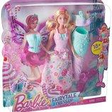 Barbie DHC39 Fairytale Dress Up Gift Set Кукла Барби Сказочное перевоплощение