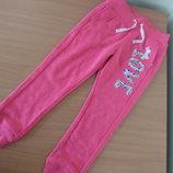 Штаны спортивные девочке 4-5 лет 104-110 см George Джорж оригинал розовые