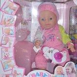 Пупс 8 функций аналог Baby Born очень красивый