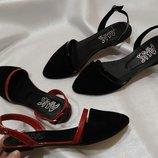 Балетки туфли летние замшевые 36-40р Новая коллекция