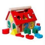 Деревянная игра Дом солтер развивающая логику в коробке