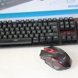 Беспроводная клавиатура и мышка HK6500