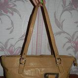 Бежевая сумка Mick-Gwend Paris