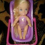 Кукла лялька Матель с переноской для куклы Mattel Simba