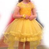 Прокат Красивое платье на выпускной в садик или праздник, 4-6 лет, Киев