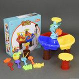 Столик игровой для песка и воды стульчик 9827