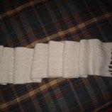 Шарф ангоровый Debenhams, длинный с кистями, 80 % ангора, 180 см х 18 см