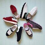 Распродажа Натуральные кожаные женские кроссовки / кеды 35,36,37,38,39,40 Высокое качество