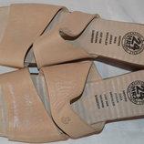Шльопки шльопанці шкіряні 24 HRS розмір 42 41, шлепки кожа