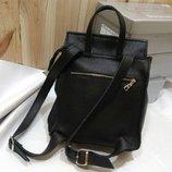 Стильный рюкзак сумка натуральная кожа