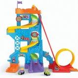 Fisher-Price парк развлечений американские горки Little People Loops 'n Swoops Amusement Park