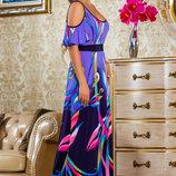 Стильное, яркое и неординарное платье 798