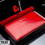 Кожаный женский кошелек бренд PIERRE CARDIN Новинка 2017