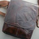 Мужская сумка бренд ALWAYS WILD Натуральная Кожа