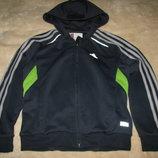 Курточка спортивна брендова Adidas Оригінал р.128 на вік 6-7 рочків