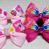 Бантики резинки заколки бант резинка для волос заколка My Little Pony Мой Маленький Пони