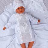 Набор для крещения Ангел , белый