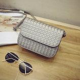 Стильная Fashion сумка-клатч с плетением В Наличии