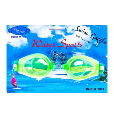 Очки для плавания беруши детские 4 вида