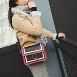 Fashion сумка клатч с кольцом и цепочкой В Наличии