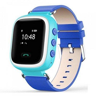 Детские смарт часы с трекером Smart Q100 Синие