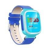 Q80 Умные детские часы Smart Часы с GPS трекером и цветным экраном Голубые