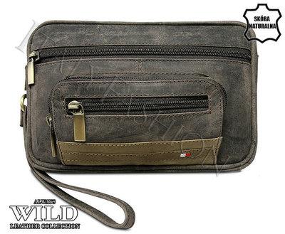 76764d5d18c9 Мужская кожаная барсетка Always Wild А5: 809 грн - мужские сумки в ...