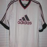 Белая мужская футболка Adidas размер L