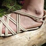 Сандалии, босоножки беж Европа 39 размер