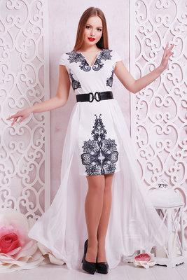 Кружево Платье Аркадия-Кд Б р нарядное белое платье со шлейфом скл2.  Previous Next 8fecd20eb5b18