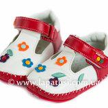 Пинетки р.15-17, на девочку, на теплую погоду, пинеточки, тапочки, носочки, первые шаги