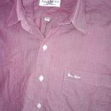 Легкая рубашка в мелкую полоску nina ricci paris