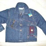 Куртка жакет пиджак джинсовый 4-8 лет