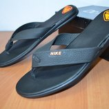 Nike кожаные вьетнамки мужские