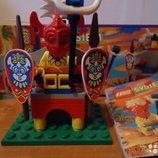 Конструктор Аналог LEGO System 6236 Трон Старейшины Индиго Lego System 6236 King Kahuka