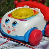 телефон каталка Fisher-Price